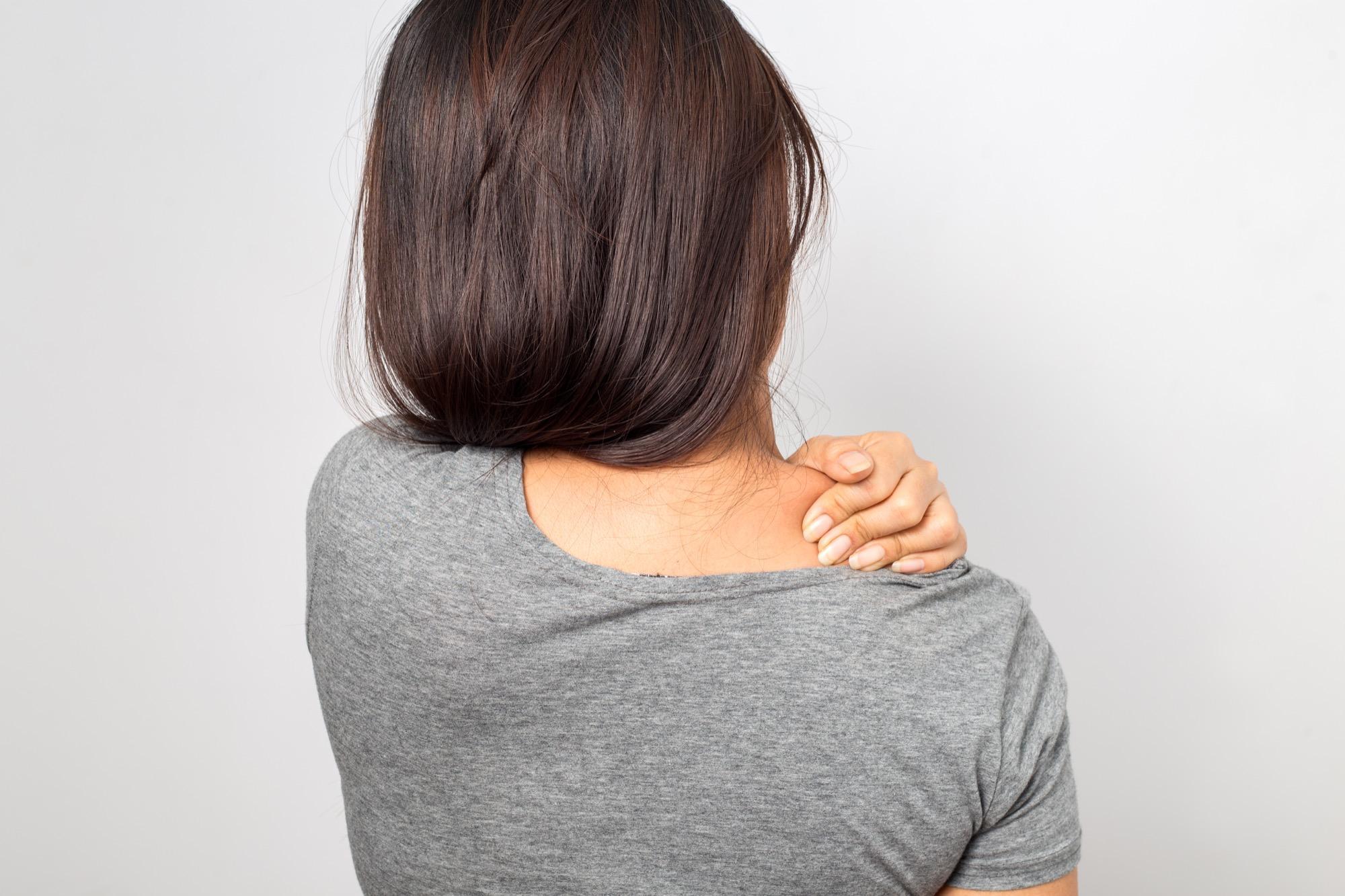 Schmerzen im Schulterbereich