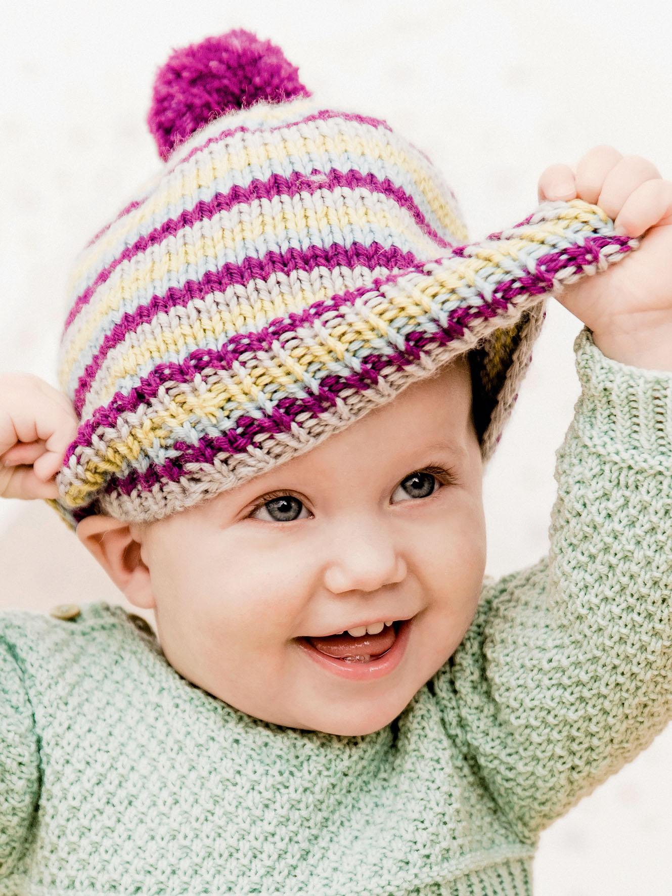 Babymütze stricken und helfen! | BRIGITTE.de