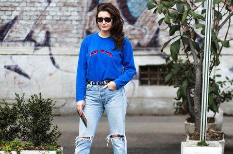 Jeanslooks aus Mailand