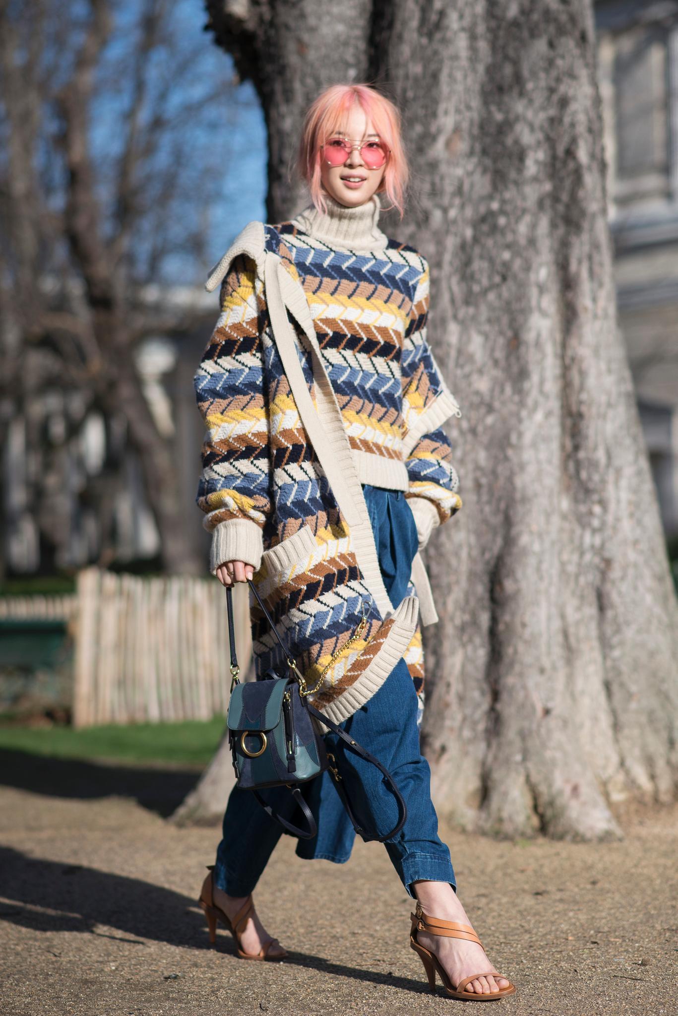 Die schönsten Streetstyles, die Lust auf Frühling machen: Lässiger Sandaletten-Look