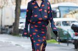 Die schönsten Streetstyles, die Lust auf Frühling machen: Kussmund-Muster