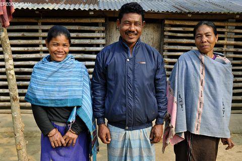 Orola Dalbot und ihre Mutter in Bangladesch