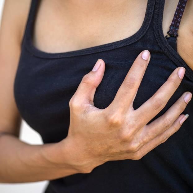Brustschmerzen