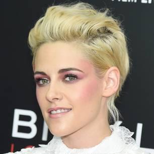 Kristen Stewart trägt Glatze: Vor ihrer Haar-Veränderung