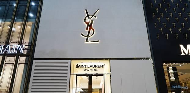 Boutique von Yves Saint Laurent
