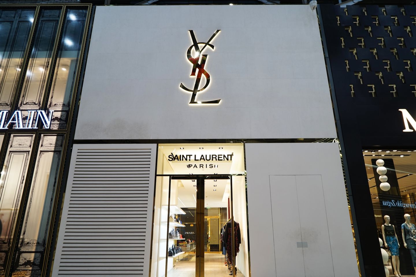 Boutique von Yves Saint Laurent