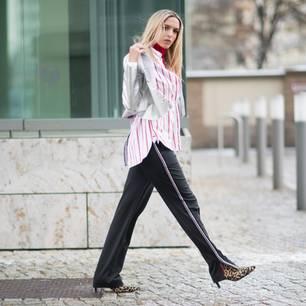 Ein Look mit Jogginghose wirkt erfolgreich