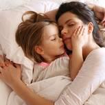 erschöpfte Mutter