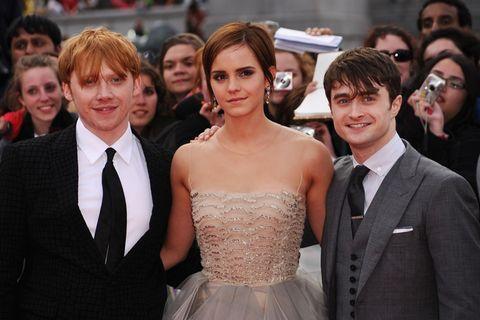 Rupert Grint Emma Watson Daniel Radcliffe