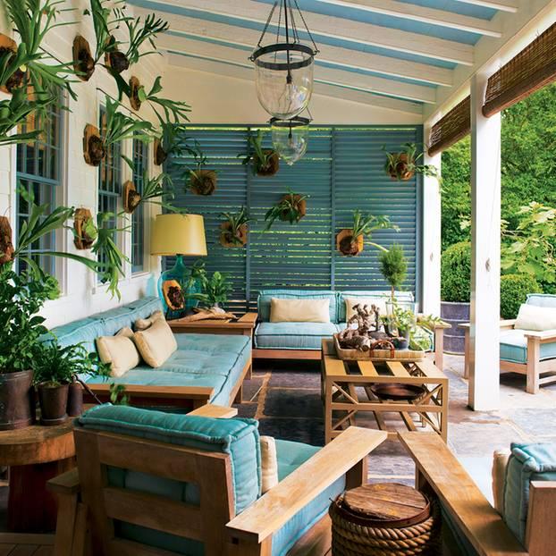 Hochwertig Cape Cod Style Wuchtige Möbel, Verwittertes Holt, Pastellpolster    Klassisch Amerikanisch.