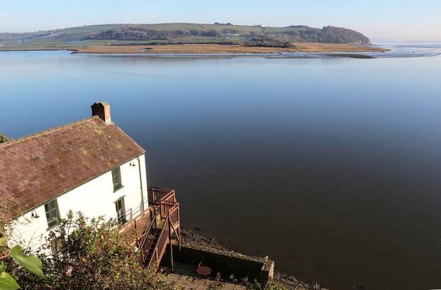 Wales: Das Boathouse von Dylan Thomas