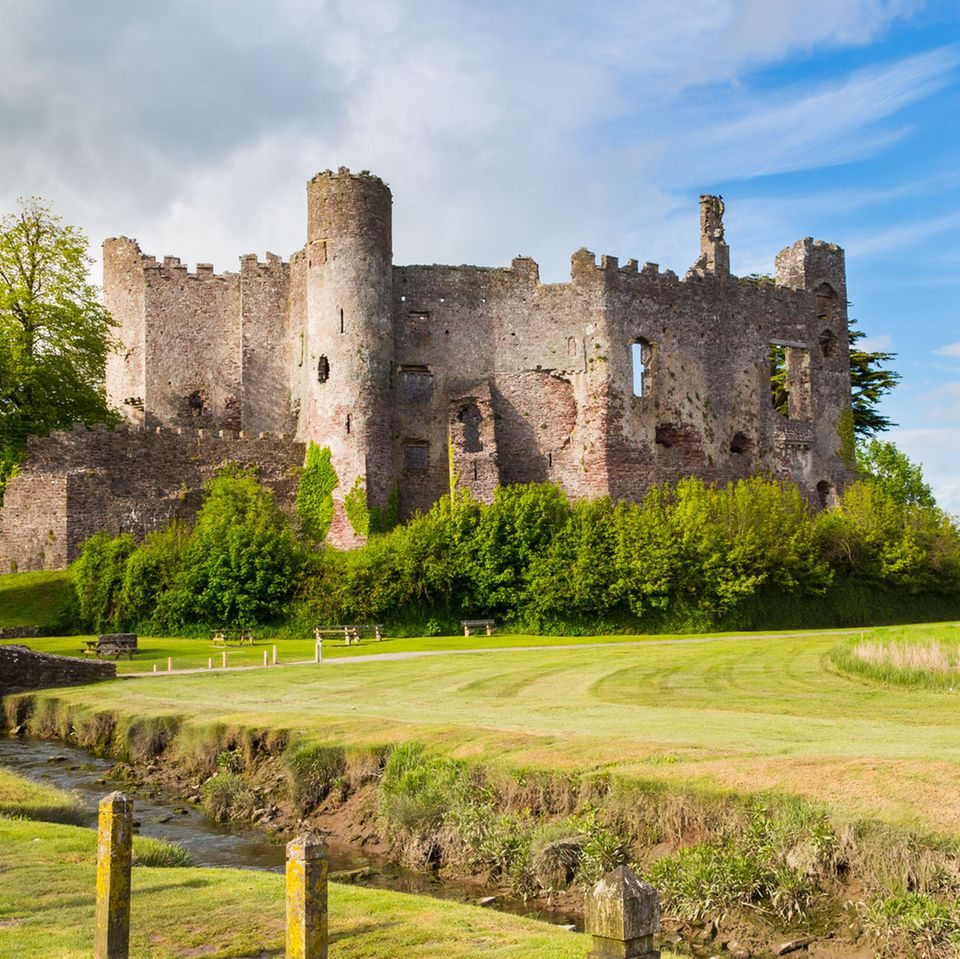 Wales: Laugharne Castle