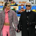 Karl Lagerfeld bringt Kleider-Linie ganz im Stil von Chanel heraus