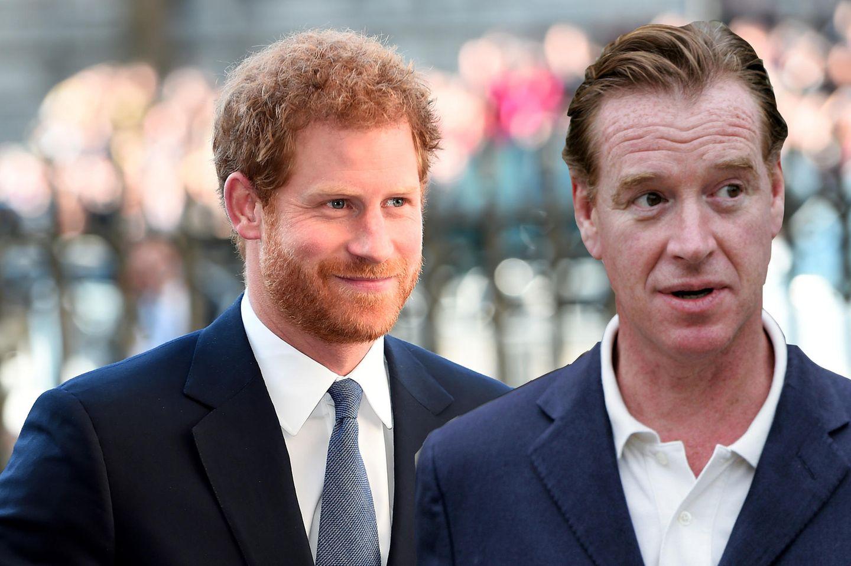 Prinz Harry: Ist James Hewitt sein leiblicher Vater