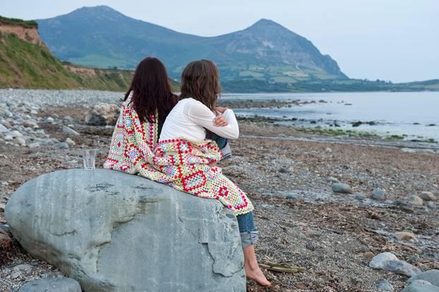 Wales: Am Strand des Campingplatzes Aberafon auf der Halbinsel Llyn