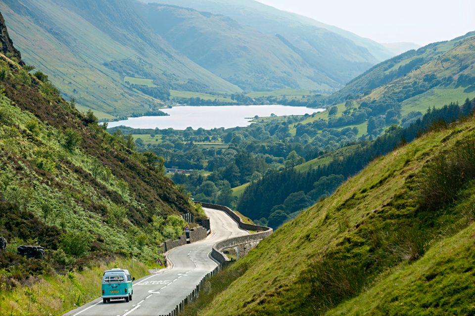 Wales: Fahrt zum Bergsee Tal-y-Llyn