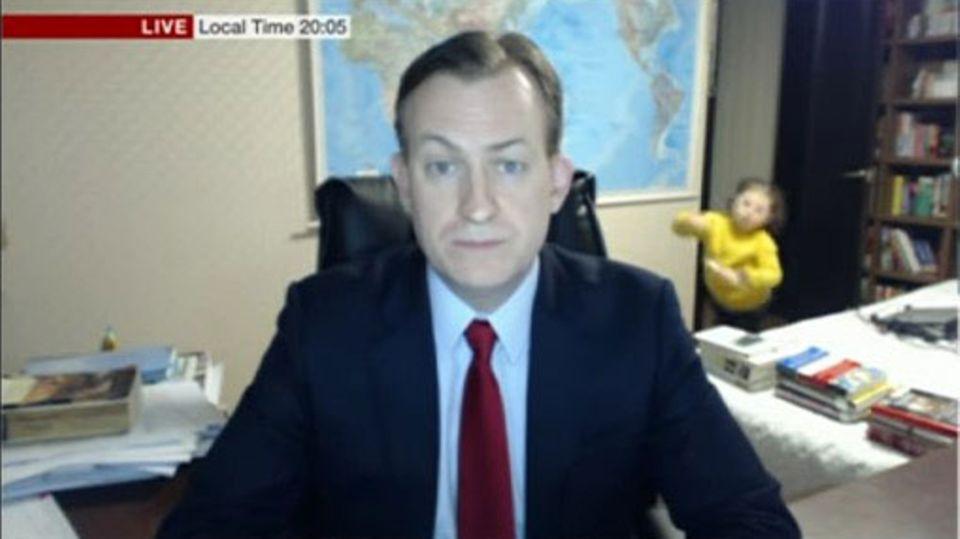 Nach TV-Panne: Jetzt spricht der Papa aus dem BBC-Interview-Video