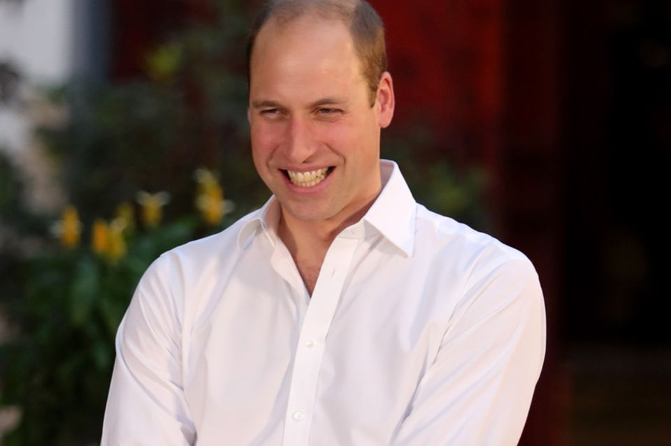 William, du wilder Hengst! HIER lässt der Prinz alle Hemmungen fallen