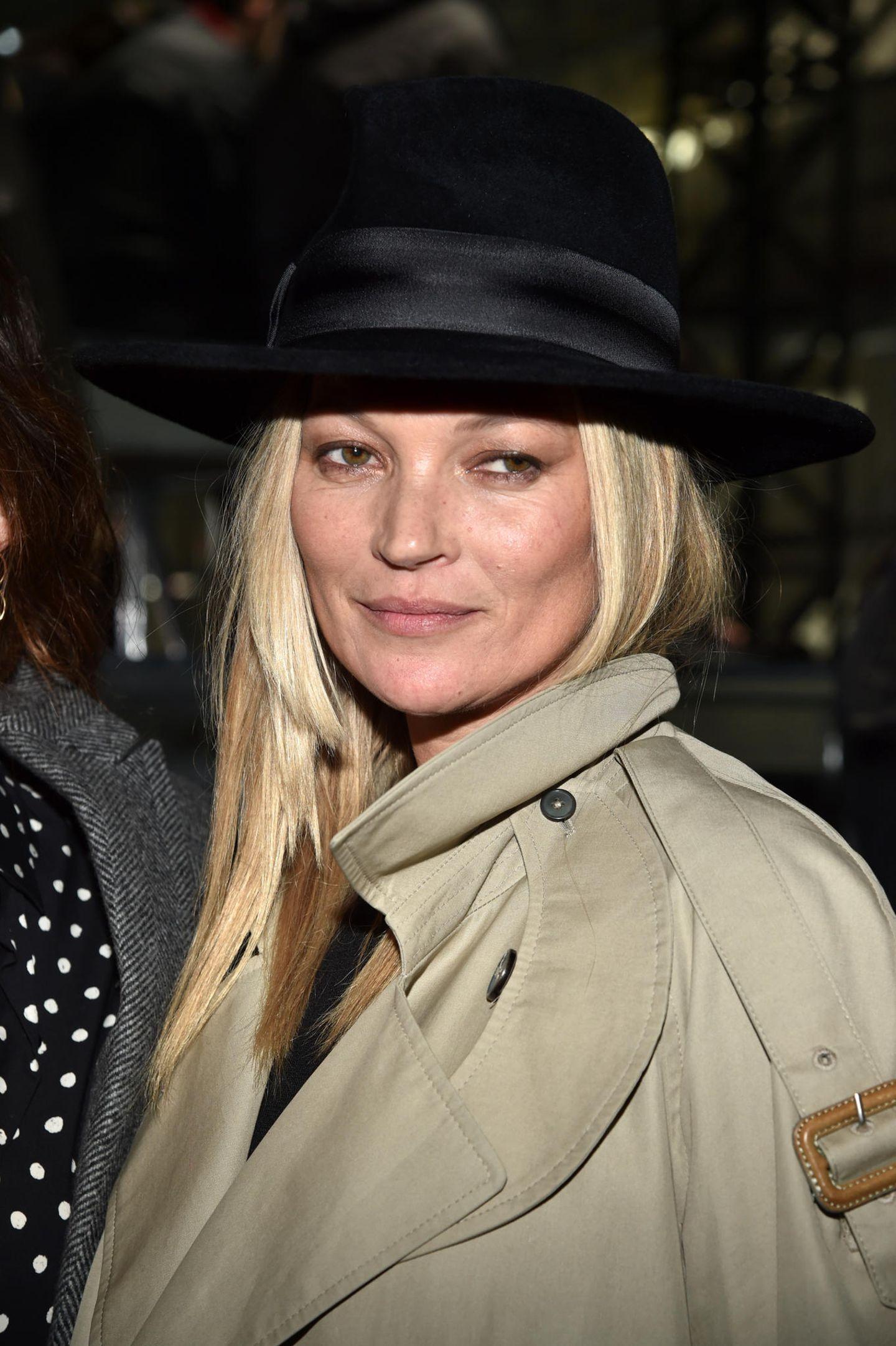 Supermodels vor ihrer Karriere und heute: Kate Moss heute