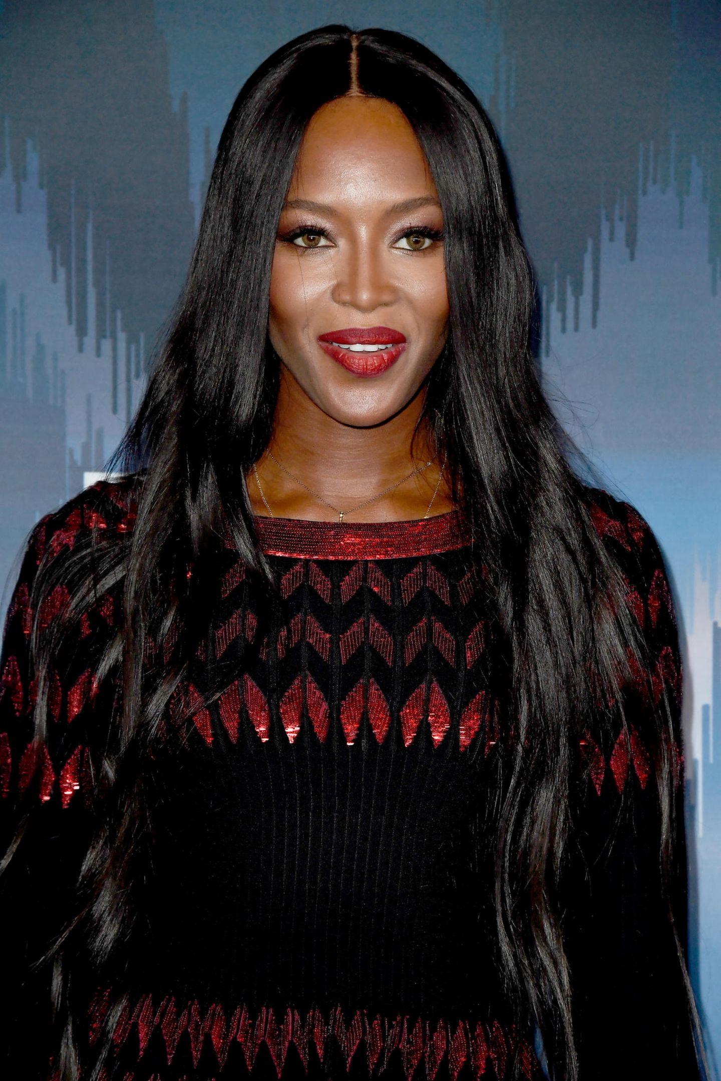 Supermodels vor ihrer Karriere und heute: Naomi Campbell heute