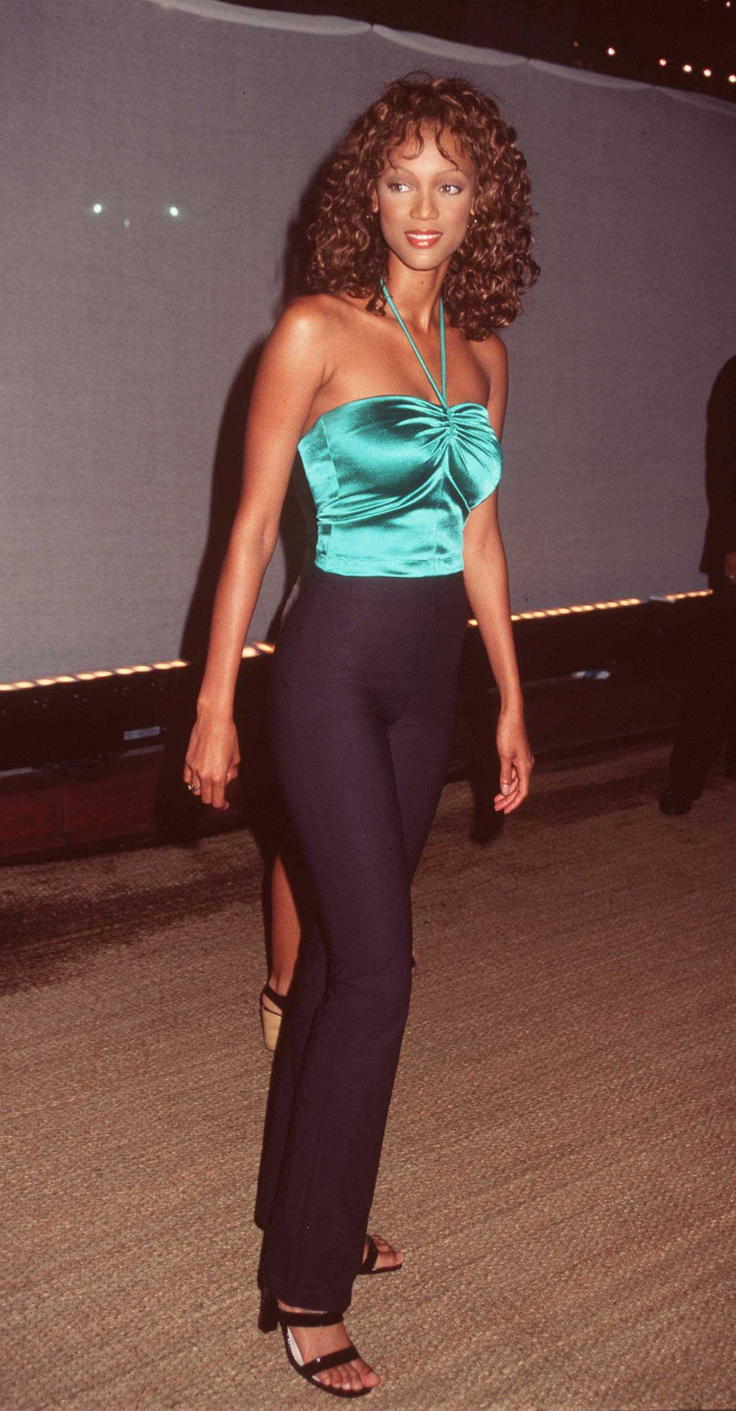 Supermodels vor ihrer Karriere und heute: Tyra Banks früher