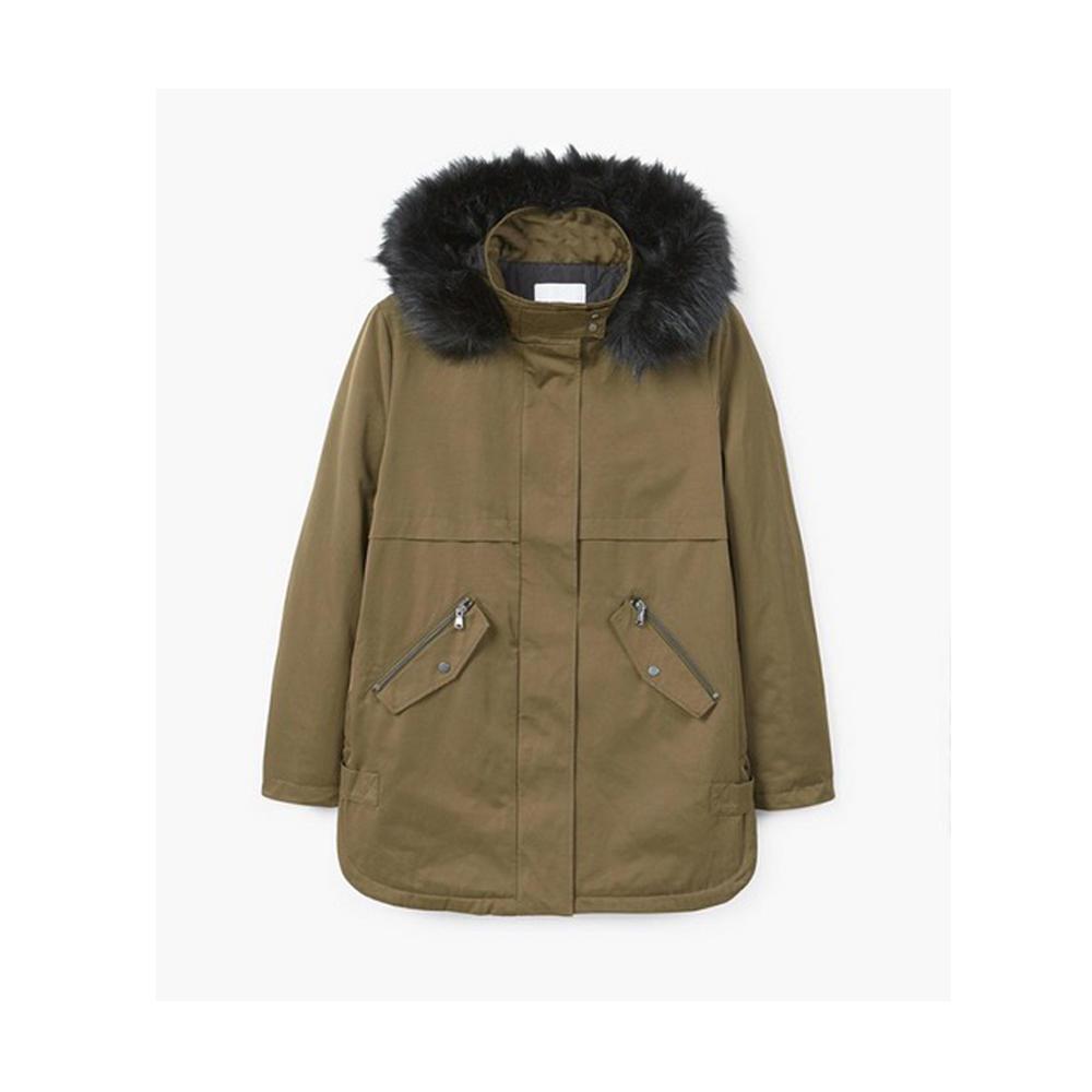 Mantel mit Print von Zara