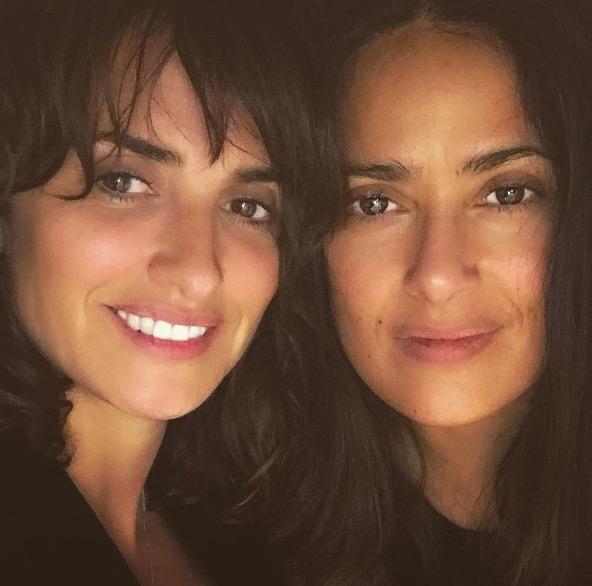 Stars ohne Make-up: Salma Hayek und Penélope Cruz