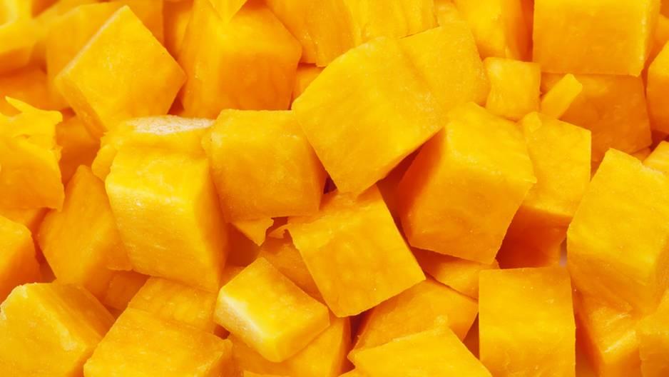 Richtig Mango schälen