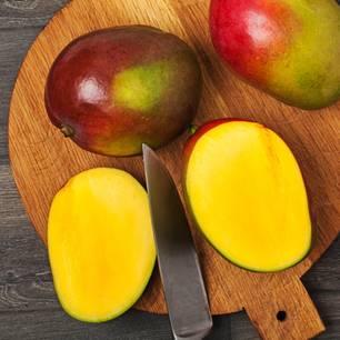 Mangos richtig schälen