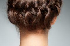 Abiballfrisuren: Haarkranz