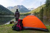 Günstig übernachten: Camping