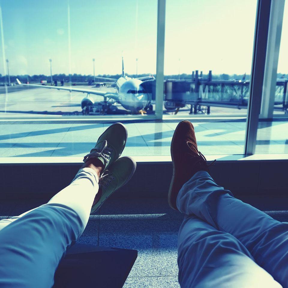 Leggingsverbot im Flugzeug