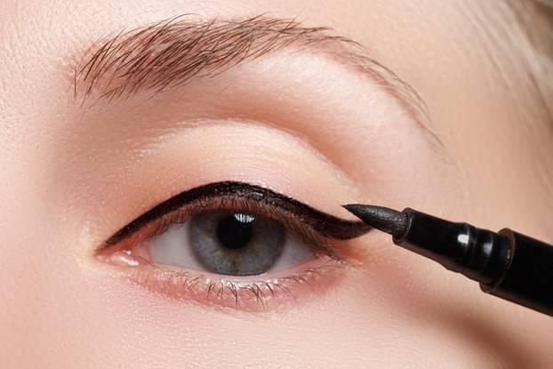 Eyeliner und Augenform