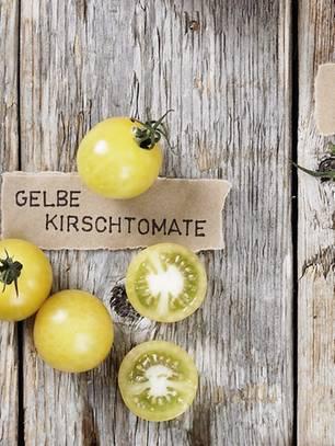 Tomatensorte Gelbe Kirschtomate