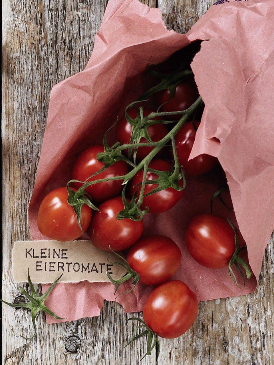 Tomatensorte Kleine Eiertomate