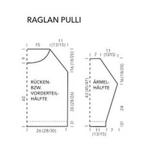 Raglan-Pulli für den Sommer stricken