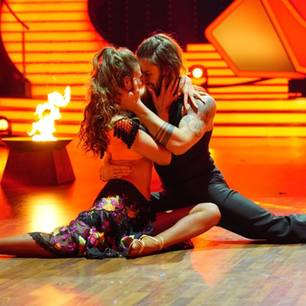 Gil Ofarim und Ekaterina Leonova bei Let's Dance'