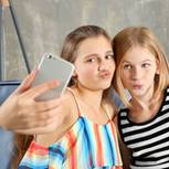 Selfie, Teenager, Mädchen, Instagram