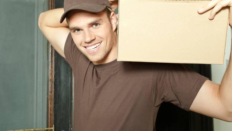 Paketbote, UPS