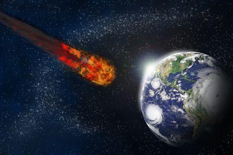 Spektakel am Himmel: Riesiger Komet rast am Wochenende auf die Erde zu