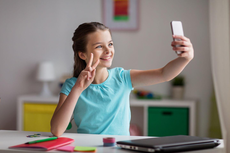 soziale Netzwerke Kinder