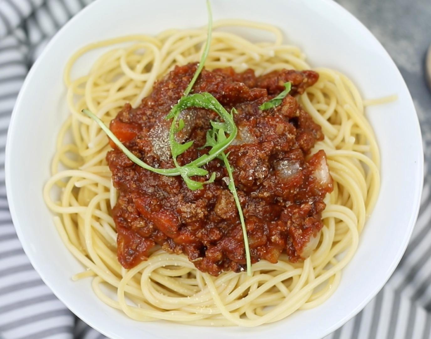 Vegane Bolognese - so gelingt sie euch