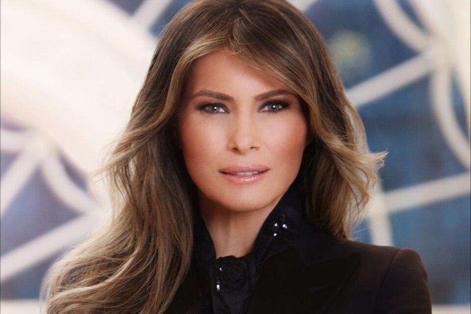 Das offizielle Portrait von Melania Trump ist da - und ein Detail erregt die Gemüter