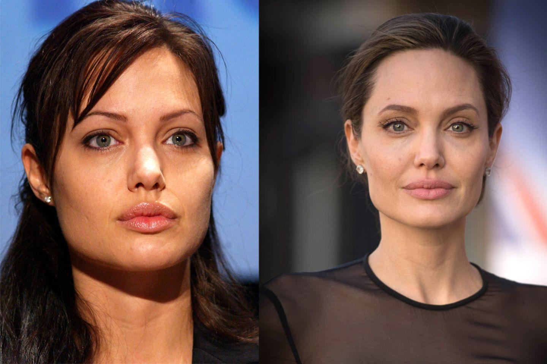 Augenbrauen der Stars: Angelina Jolie