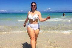 Bikini-Kampagne ohne Retusche