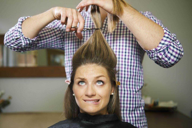 Eine Trennung macht Lust auf eine neue Frisur