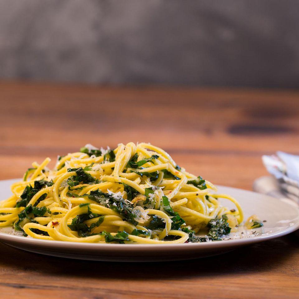 Bärlauch-Spaghetti