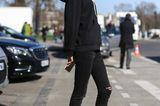 Streetstyle: Socken mit Sternen zur schwarzen Jeans