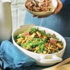 Quinoa-Pilz-Salat mit Thunfisch