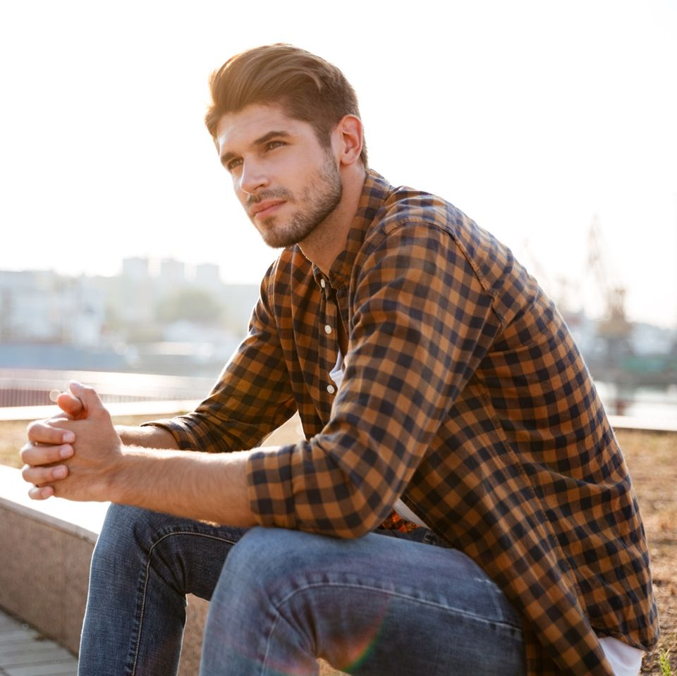 Kränkung – das verletzt Männer am meisten: Mann in der Sonne